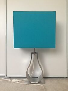 Teal Blue Table Lamp