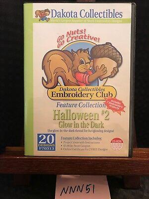 F Club Halloween (DAKOTA COLLECTIBLE EMBROIDERY CLUB HALLOWEEN #2 GLOW IN THE DARK 20 DESIGNS)