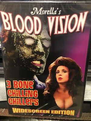 Blood Vision (DVD) 3 Bone Chilling Chillers! Widescreen Edition! BRAND NEW! - Bone Chillers Dvd