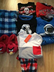 Lot of boys size 6 pajamas