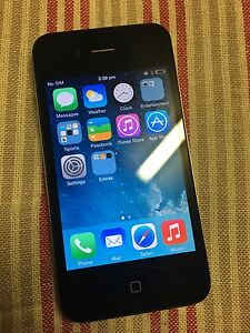 iphone 4 black 16GB Meadowbrook Logan Area Preview