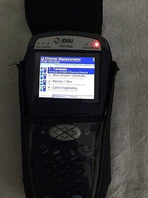 Jdsu Hst-3000c Color W T1 T3 Ethernetadslr Mod Cords Charger Bags Last 1