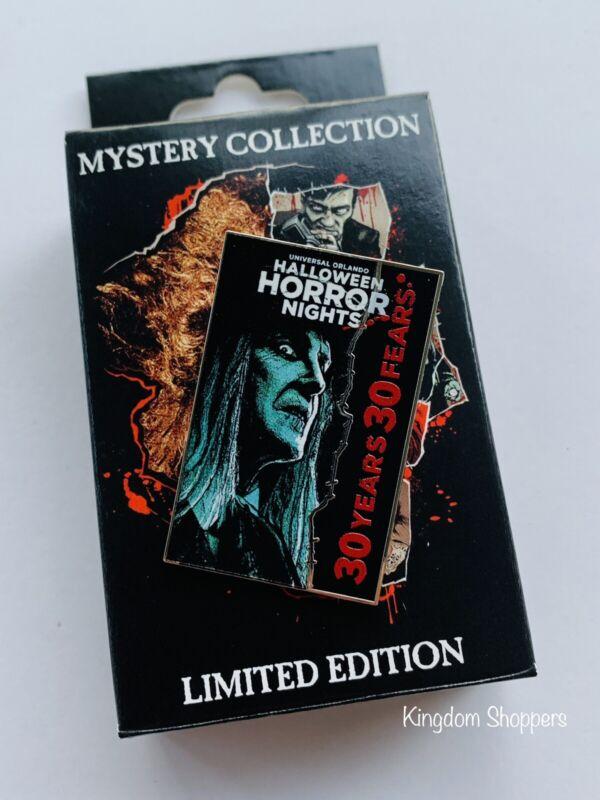 2021 Universal Orlando HHN Mystery Pin Halloween Horror Nights Caretaker