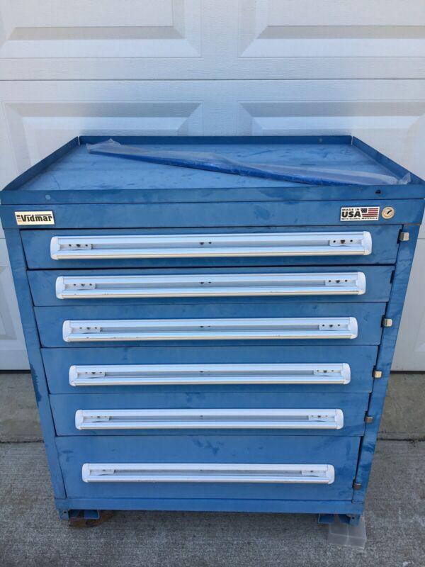 Vidmar 6-Drawer Tool Cabinet