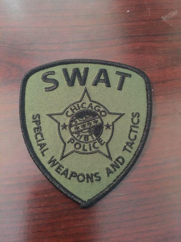Chicago Police Swat Shoulder Patch Subdued