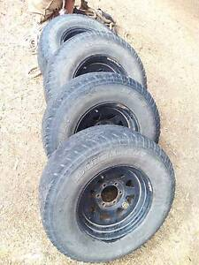 Bridgestone Tyre & Steel Rims 265/75R16 Whyalla Whyalla Area Preview
