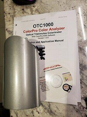 Sencore Otc-1000 X-rite Hubble Meter Color Analyzer