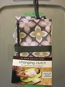 JJ Cole Diaper Changing Clutch London Ontario image 1