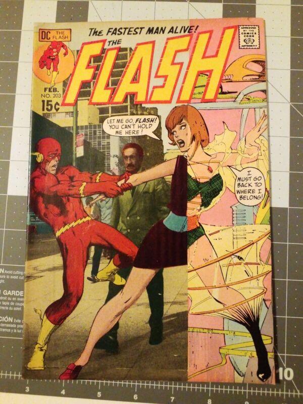 The Flash 203 Dc Comics 1971