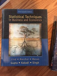Statistical Techniques in Business Economics Textbook