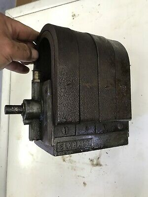 Elkhart Large Rumley Falk Other Antique Hit And Miss Gas Engine Magneto Rare