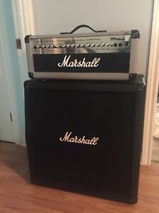 Marshall MG100HDFX Head + Cabinet + Foot Switch