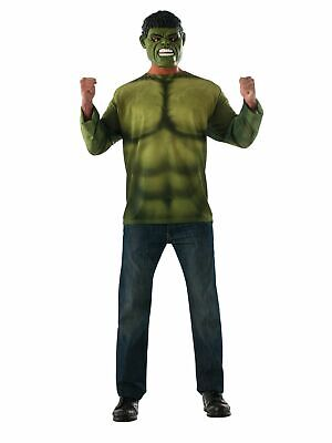 New Marvel Avengers 2 Age of Ultron Incredible Hulk Costume Men Large (810685)