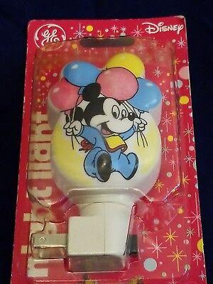 Vintage Disney Baby Mickey Mouse GE Nightlight