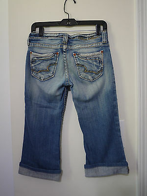 (Big Star Casey Crop Jeans Women size 28)
