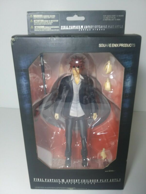 RARE Final Fantasy VII Movie Advent Children Series 2 Action Figure Reno NEW
