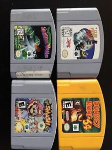 Assorted N64 Games