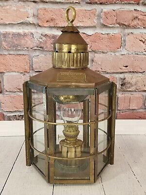 Clipper Ship Lamp, No. 1255, Dumbarton, Scotland, 1869, Nautical - Ex. Condition