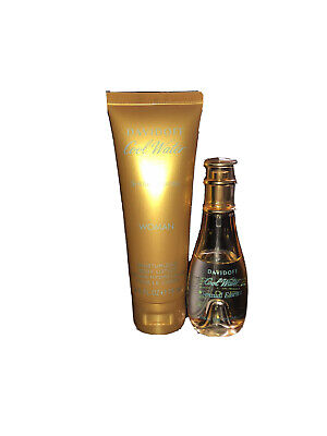 davidoff cool water woman 30ml perfume (approx 1/3 used) and body lotion