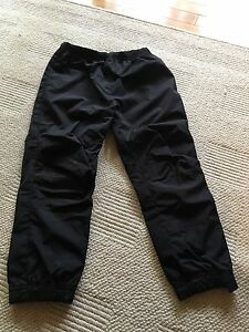 Black jersey lined splash pants size 4T