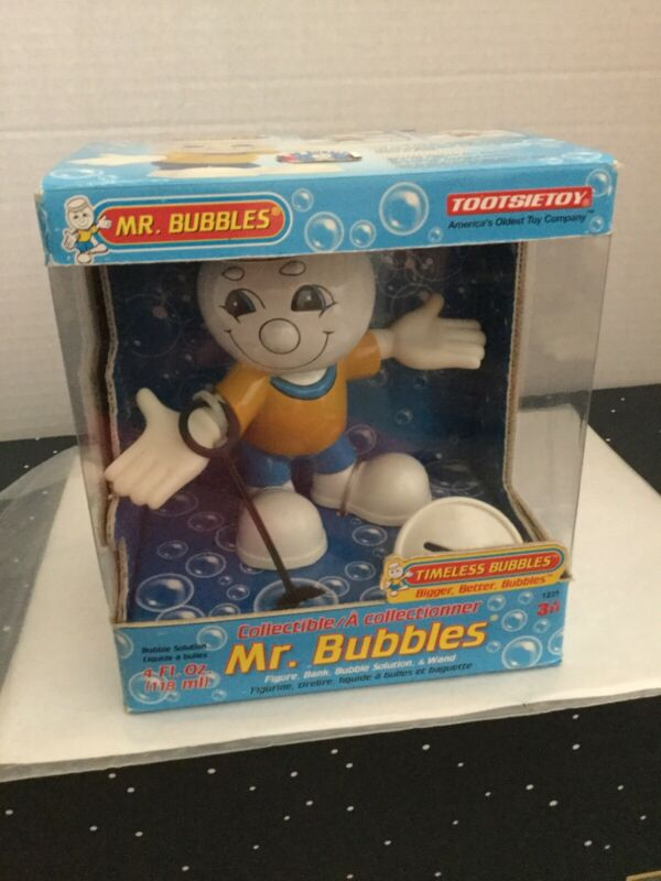 RARE MR BUBBLES Tootsie Toy  NEW IN BOX  Sealed Advertising Figure