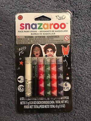 Face Paint Sticks (Snazaroo Face Paint Sticks - 6/pkg-)