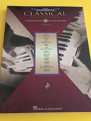 Ultimate Classical Collection, Piano Solo