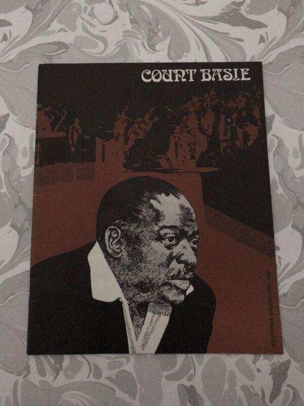 Count Basie Souvenir Tour Brochure, 1970s
