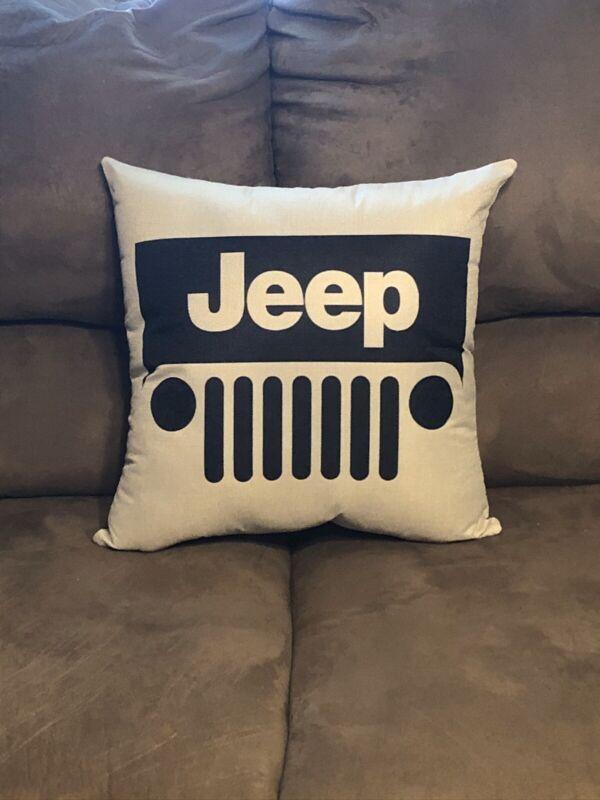 Handmade Jeep Pillow