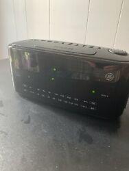 GE 7-4852A Dual Alarm AM/FM Clock Radio Large Digital LED Display