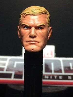 MARVEL LEGENDS PAINTED/FITTED COMIC STEVE ROGERS (CAP.AMERICA) 1:12 HEAD CAST (Steve Head)