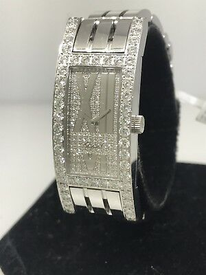 CHOPARD CLASSIQUE FEMME WHITE GOLD & DIAMOND LADIES WATCH NEW $53,640 RETAIL!!!!