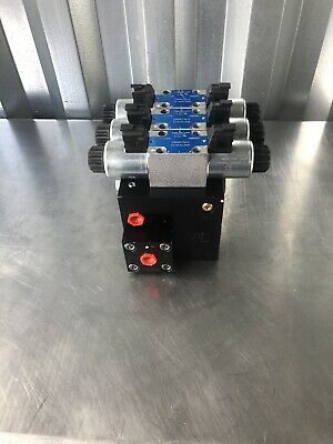 Norac 106063 Hydraulic Control Valve Block Boom Height D18775 New Free Shipping