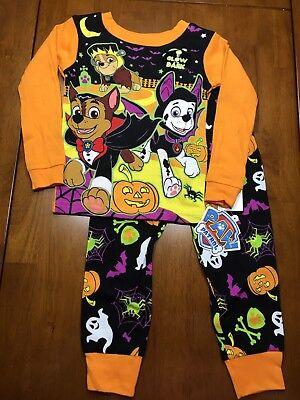 Paw Patrol snug fit Halloween Glow in the dark PJs