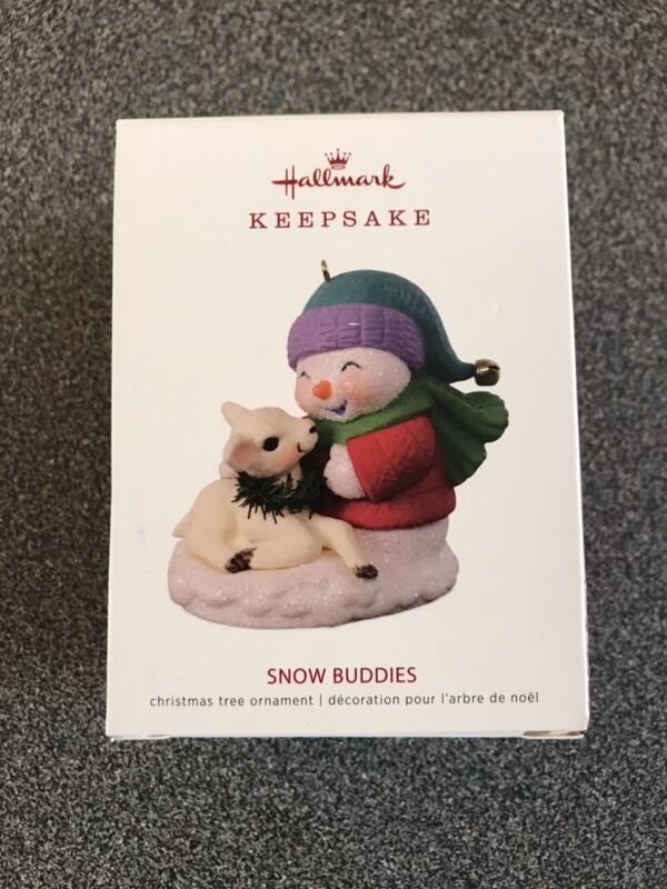 Hallmark 2018 Snow Buddies Keepsake Ornament Lamb 21st in Series