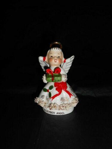 Vintage Lefton December Angel w/Presents #AR1987