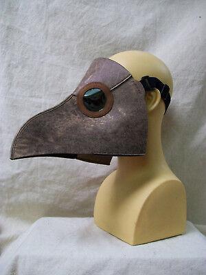 Plague Doctor Mask Bird Beak Steampunk Medieval Death Dr Apocalyptic Biohazard