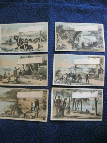 Victorian Trade Business Cards 1800