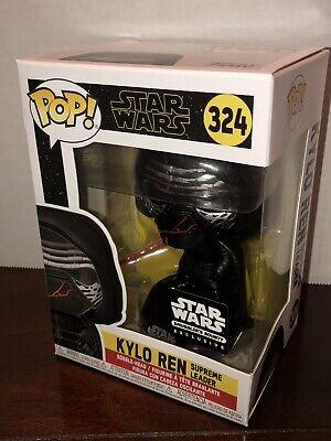 Star Wars Funko POP Smuggler's Bounty Exclusive Kylo Ren Supreme Leader 324