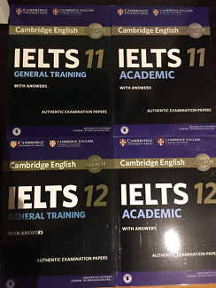 IELTS Books from $30 (both academic and general are available)