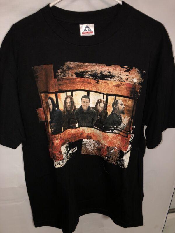 Vintage KORN Untouchables 2002 Pop Sux Tour Black Concert T Shirt Men