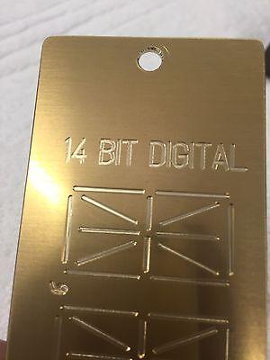 14 Segment Digital Readout Alphabet Strip For New Hermes Pantograph Font Look
