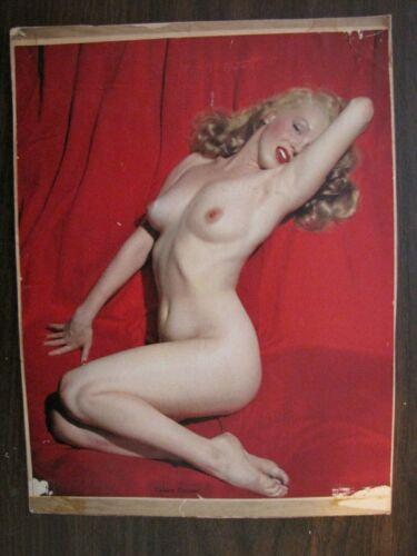 """Vintage 1951 Marilyn Monroe """"Golden Dreams"""
