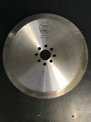 "NEW OHLER 16"" X 160 TOOTH SEGMENTAL COLD SAW BLADE 50MM BORE 8 PINHOLES M2 STEEL"