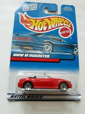 2000 Hot Wheels BMW M ROADSTER Red Collector No. 100 from Mattel