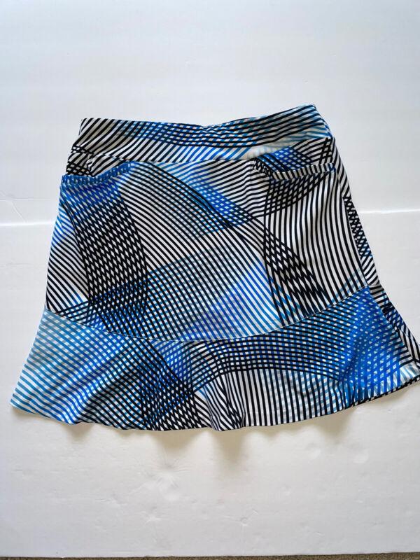 Tail Activewear Founce Small Golf Skort Skirt Geometric Flounce S $89