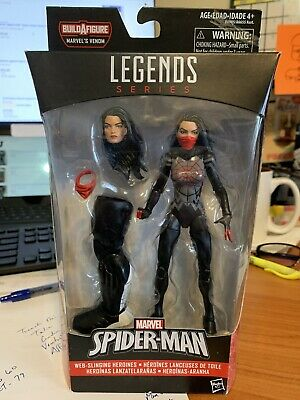 2016 Hasbro Marvel Legends Space Venom Spider-Man Silk Action Figure Sealed Box