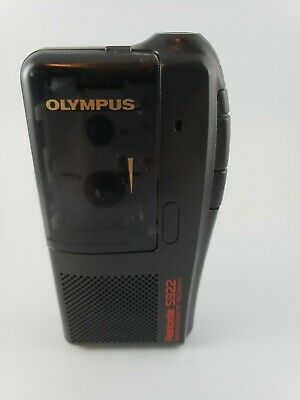 Olympus Pearlcorder S922 Microcassette Tape Voice Recorder Euc