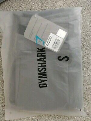 Gymshark Asymmetric Leggings - Smokey Grey/Black - Size S - Brand New with Tags