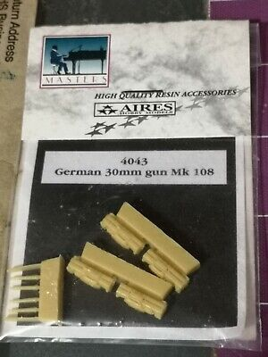 Aires Masters Model Accessory Kit No. 4043 German 30mm Gun Mk. 108 1/48